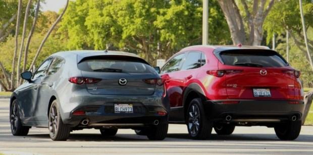 Dimensi Mazda CX-30 lebih Besar dari Mazda3