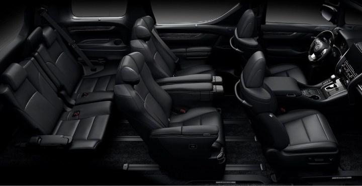 Kabin Lexus LM350 Indonesia 7-Seater
