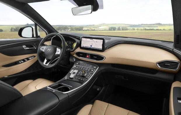 Hyundai Santa Fe 2021 - Interior Dashboard-1