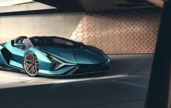 Lamborghini Sian Roadster - Blue