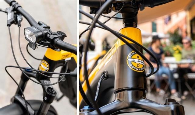 Sepeda Ducati Scrambler - Sepeda Listrik seharga Motor Sport
