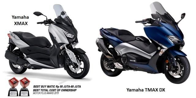 Yamaha XMax & TMax - Skutik Besar Yamaha Termahal