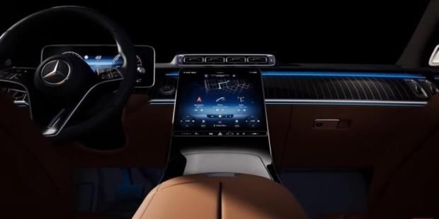 Interior Mercedes-Benz S-Class 2021 Generasi Baru