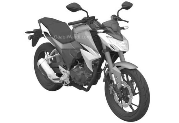 Sketsa Honda Tiger Generasi Baru 2021