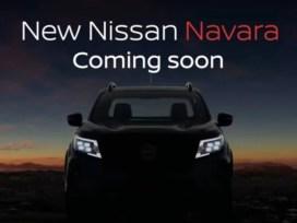 Nissan Navara 2021 Facelift - Teaser Resmi