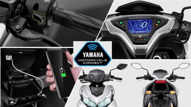 Fitur Baru Yamaha Aerox 155 Facelift 2021 - Connected VVA