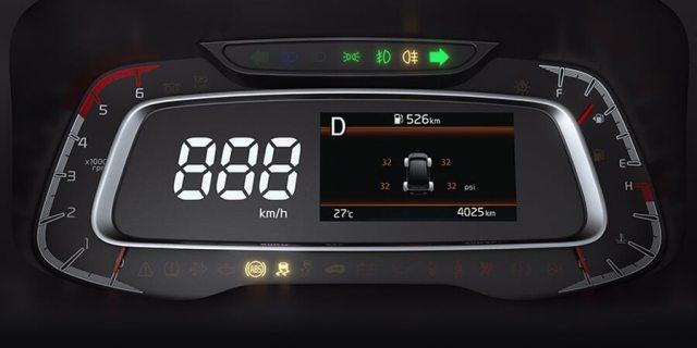 Meter Cluster Kia Sonet - Digital dan Modern