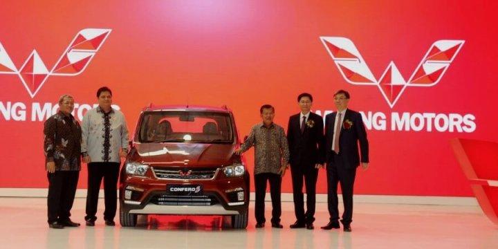Peresmian Pabrik PT SGMW Motor Indonesia - Dihadiri Wakil Presiden, Gubernur Jabar dan Menteri Perindustrian
