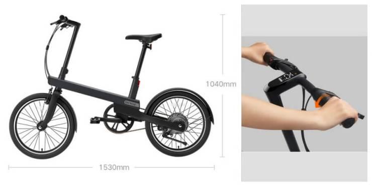 Spesifikasi Xiaomi QiCycle EC1 - Review Sepeda Listrik