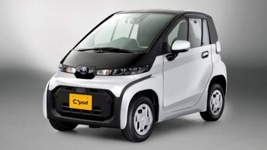 Toyota C+pod BEV - Full View