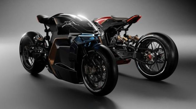 BMW Motorcyborg Concept by Designer