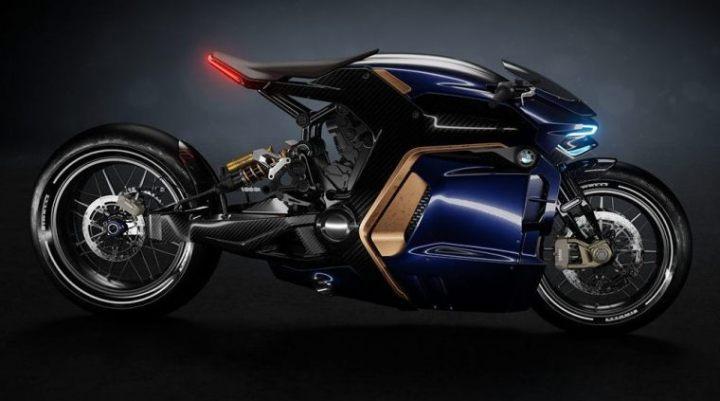 BMW Motorcycle Concept - Sabino Leerentveld