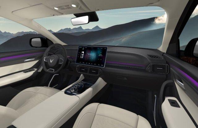 Interior dan kokpit VinFast VF32 - Semi Otonom EV