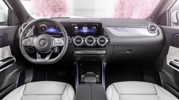 Mercedes-Benz EQA -Interior Terang