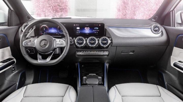 Mercedes-Benz EQA -Interior Terang