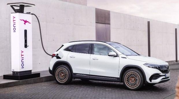 Mercedes EQA - Mobil Listrik Termurah Mercy