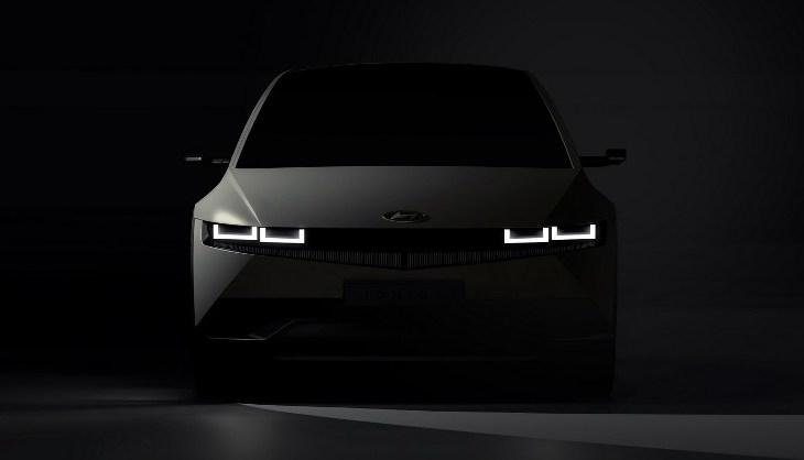 Teaser Hyundai Ioniq 5 - Depan