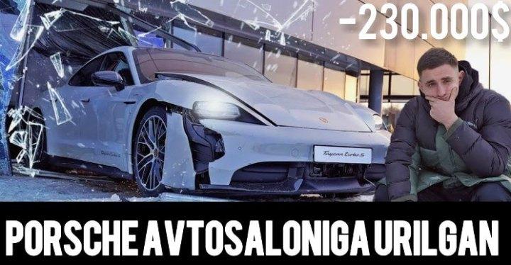Cover Video YouTube Mikhail Litvin - Hancurkan Kaca Diler Porsche