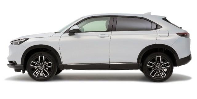 Honda HR-V Gen-3 - Tampak Samping