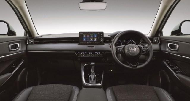 Interior HR-V 2021 Generasi baru - Dashboard