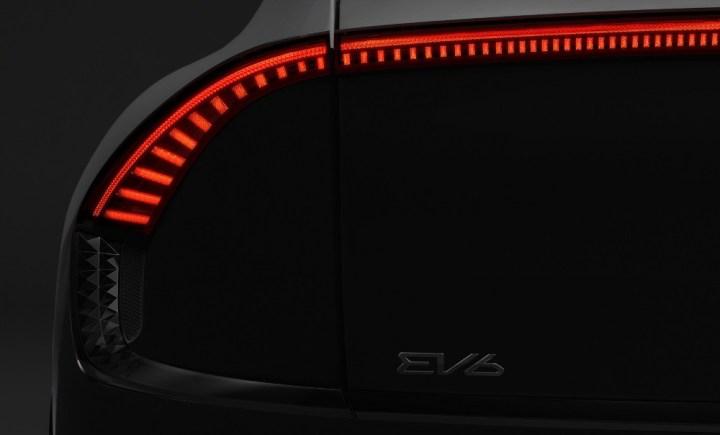 Kia EV6 2022 - Teaser Resmi EV Kia