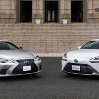 Mobil Toyota dengan Teknologi Otonom Level-2 - Lexus LS & Toyota Mirai