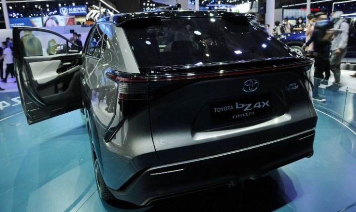 Toyota bZ4X Concept - Rear