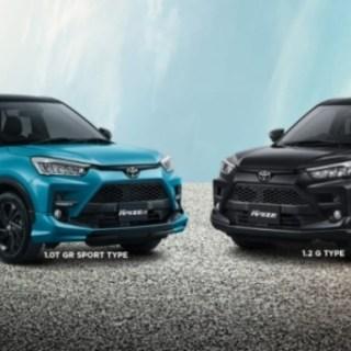 Beda Tiap Tipe Toyota Raize - 1.2G - 1.0G - GR Sport - TSS
