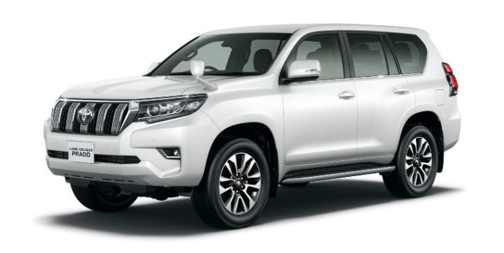 Toyota Land Cruiser Prado - versi standar