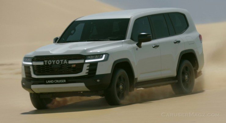Toyota New Land Cruiser 2022 LC300 - World Premiere Middle East