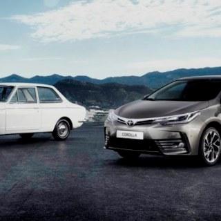 Toyota Corolla Lintas Generasi