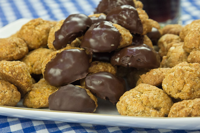 εύκολα μπισκότα menoumespiti cookies ANZAC biscuits