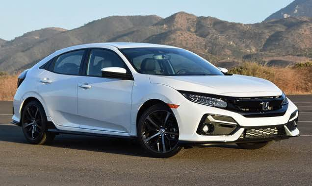 2022 Honda Civic Hatchback MSRP excluding tax, license, registration, and options. Dealers set own prices. Destination & Handling Fees included