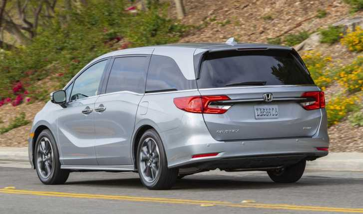 The 2022 Honda Odyssey will produce 280 horsepower and 262 pound-feet of torque