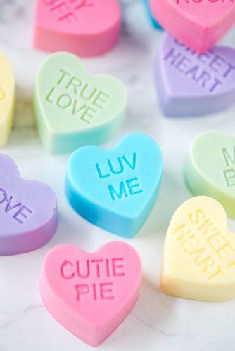 Handmade Valentine Heart Soap