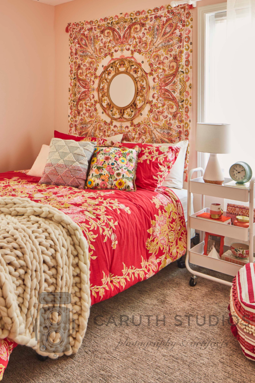 Small boho bedroom