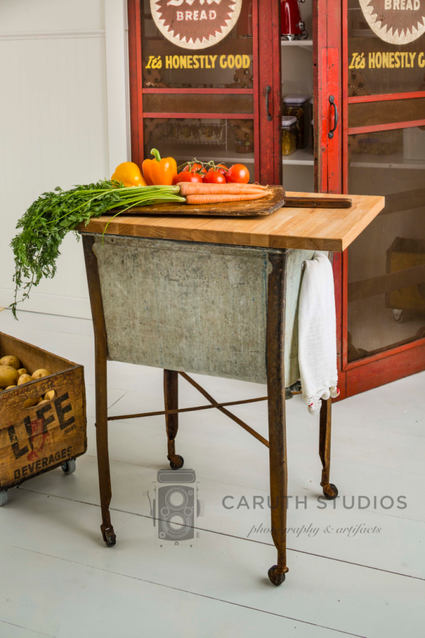 Washtub kitchen island