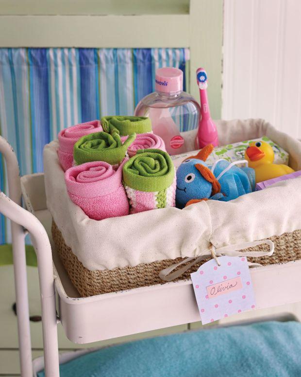 Bath supply cart