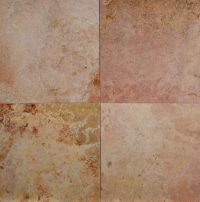 1212 Peach Travertine Honed Filled Tile - Carved Stone ...