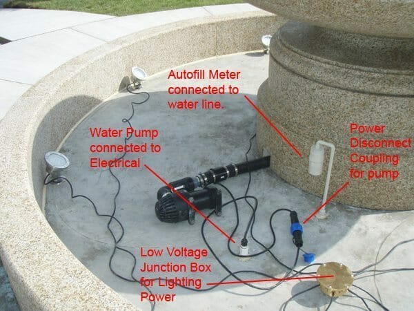 Pond Pump Electrical Wiring
