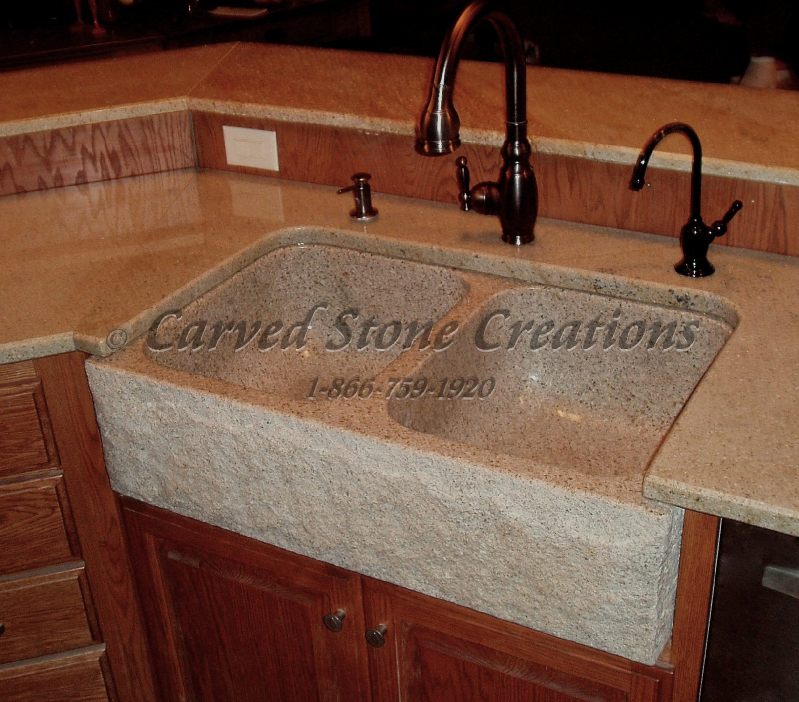 stone kitchen sink floating cabinets 3 pieces for your carved creations granite