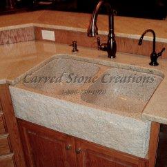 Kitchen Sink Black Granite Round Rustic Table Elegant Natural Stone Designs