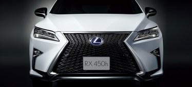 新型レクサスRXの外装・見た目のグレードによる違いは?Fスポーツ対verionLのデザインはどうよ
