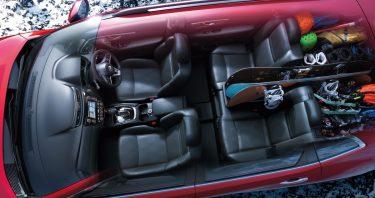 新型エクストレイルの魅力はやっぱり内装(インテリア)の無限の機能性にあり。フルフラットじゃなくても車中泊は出来る!