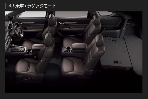 新型CX-8シートアレンジ2