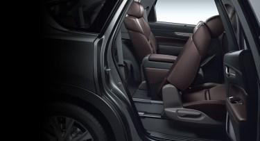新型CX-8の【後部座席・3列シート・ラゲッジ編】ってどうよ!?スライド&リクライニングで乗り心地はGOOD!