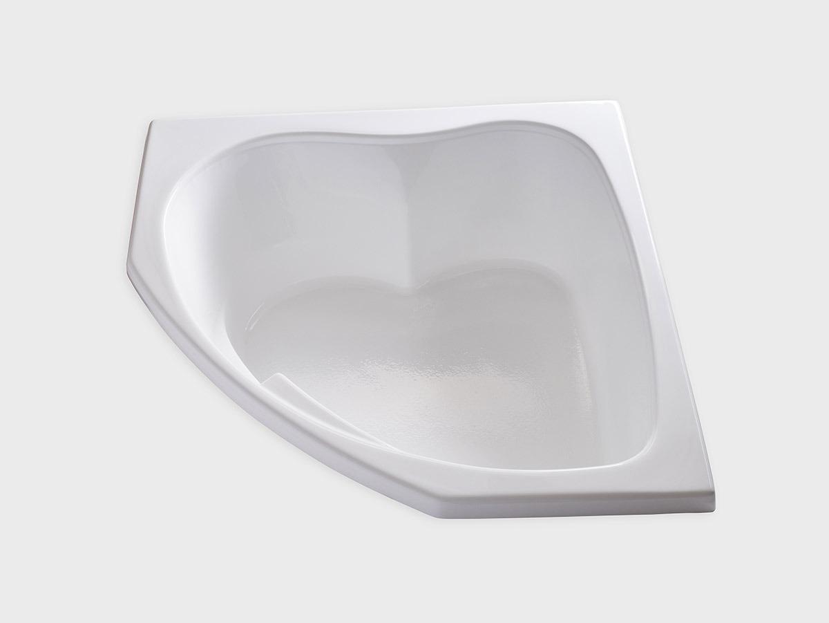 SKC5555 55 X 55 Corner Drop In Soaking Bathtub
