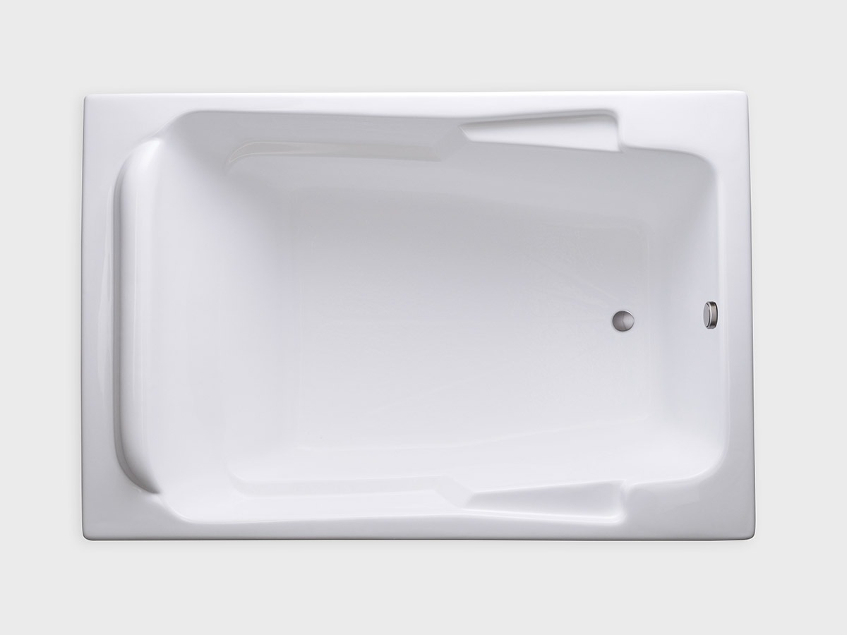 SR7148 71 X 48 Rectangle Drop In Soaking Bathtub