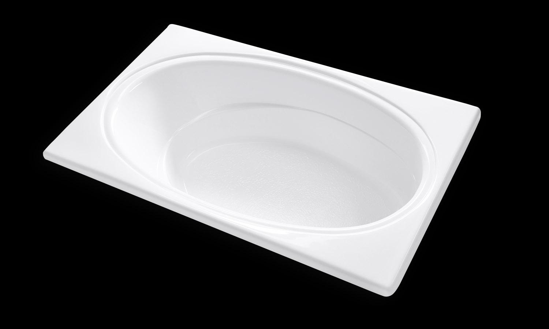 SR7242 72 X 42 RectangleOval Drop In Soaking Bathtub