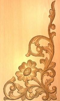 Corner Design  CNC Wood Carving Machines
